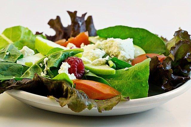 dietní zeleninový salát