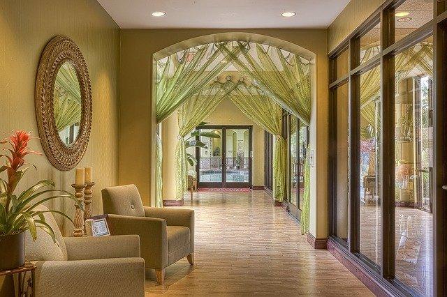 luxusní interiér s nádechem orientu
