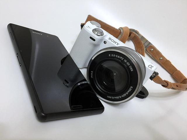 SONY mobil a fotoaparát
