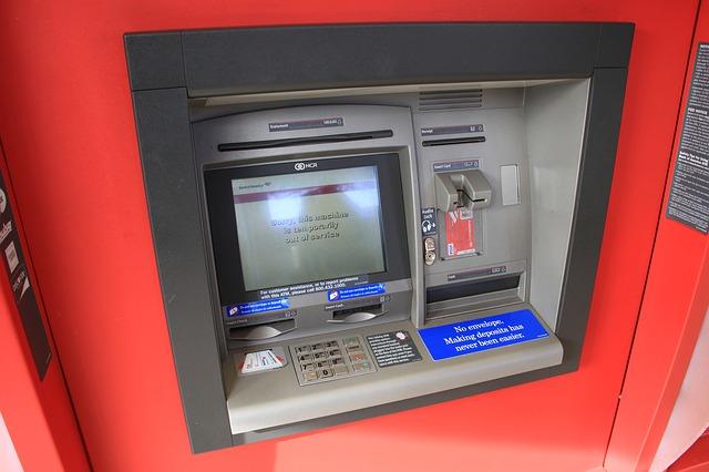 bankovat pro výběr peněz