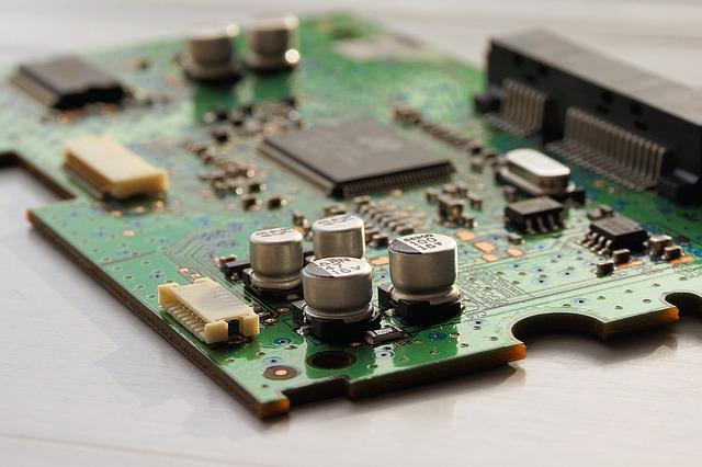 elektronická deska přístroje