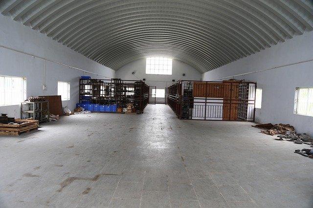 interiér skladiště