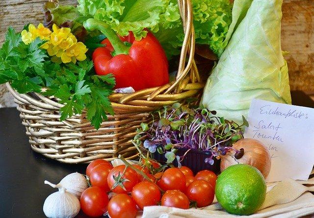 seznam na zeleninu
