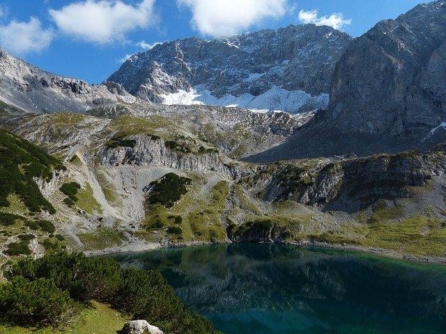 tyrolské alpy