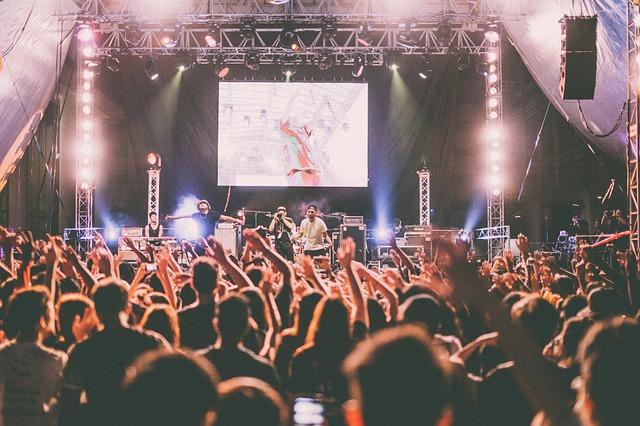 koncert – festival – osvětlení