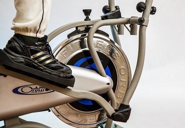 fitness cvičení – rotoped