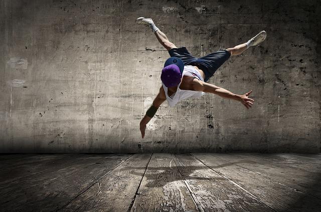 hip hop tanečník