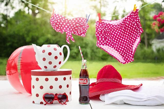 coca cola a plavky
