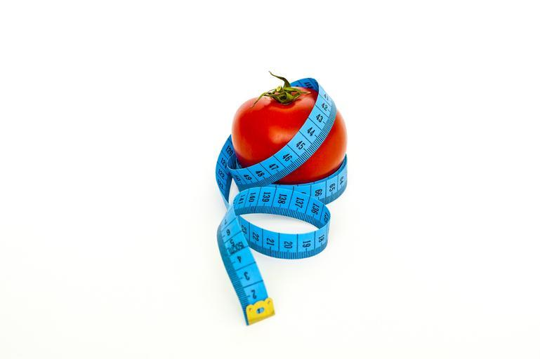 rajče s metrem
