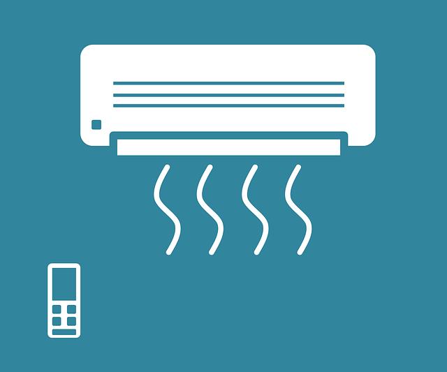 klimatizace s ovladačem